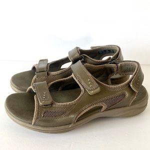 Clarks In Motion Women's Walking Sandals Bronze 7M